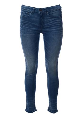 G-Star blue G-Star-3301 Ultra High Super Skinny Jeans-Blue 574F5AAD9D407BGS_1