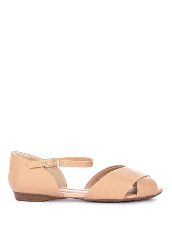 b34a8064c Shop G G Comfort Open Toe Flat Sandals Online on ZALORA Philippines