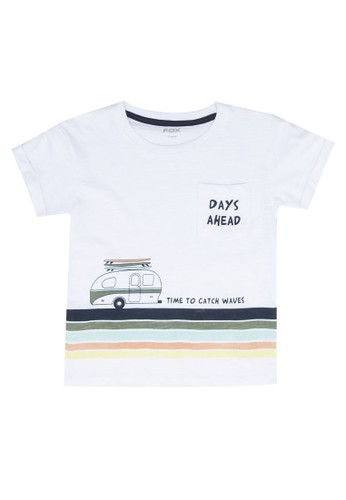 FOX Kids & Baby white Baby Boy Short Sleeve Graphic Tee 83323KA0586AB4GS_1