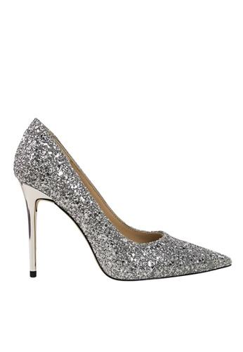Twenty Eight Shoes 銀色 閃片晚裝及新娘鞋 VP92191 911D0SHFD902A1GS_1