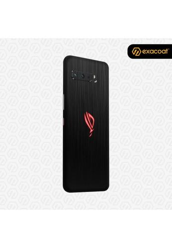 Exacoat Asus ROG Phone 3 3M Skins Titanium Series - Titanium Black 2F60EES51034DEGS_1