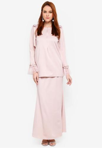 Afeeya Kurung from JubahSouq in Pink