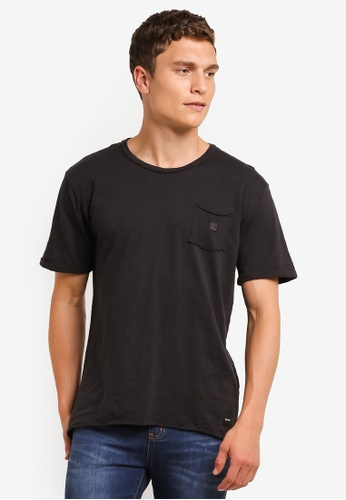 Only & Sons black ONLY ONE Anthony T-shirt ON662AA0RMC0MY_1