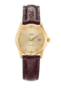 LTP-1183Q-9ADF 真皮圓錶