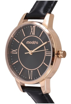 e1e3b16d7664 Massa Collections Precious Black Ladies Leather Watch RM 450.00. Sizes One  Size