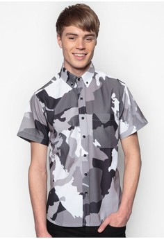 Limelight Camo Short Sleeve Shirt