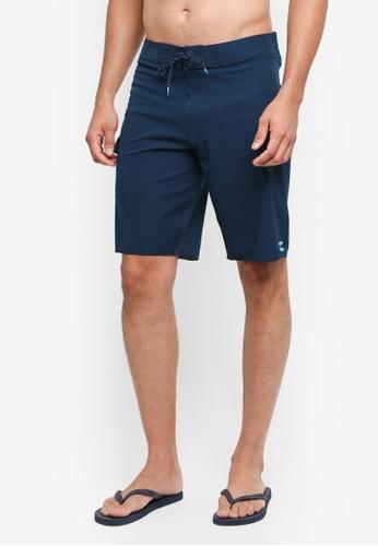 Billabong 海軍藍色 抽繩沙灘褲 BI783AA0SXGDMY_1