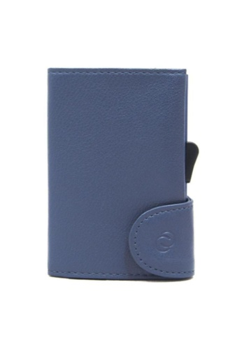 C-Secure blue C-Secure Italian Leather Wallet (Blu Marino D80686) 6BAAAAC6BCA0ABGS_1