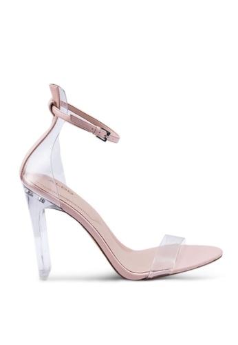 ALDO beige Aserania Open Toe Ankle Strap Stiletto Heels 74170SHD3FAC71GS_1