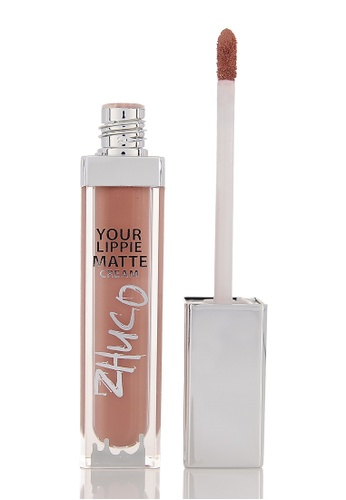Zhuco Cosmetics pink Lippie Matte Cream 16 Krush ZH711BE0S2I0MY_1