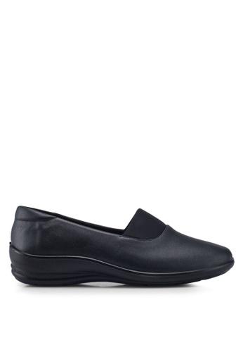 Louis Cuppers black Mono Flats CFEF0SHF94B817GS_1