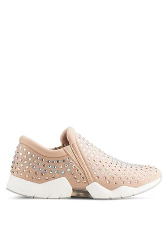ALDO beige Talin Slip On Sneakers AL087SH48XXNMY_1