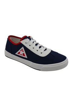 Low Cut High Quality Sneakers Men's Rubber Shoes 515 (navy blue/white)