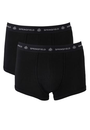 Springfield 黑色 2-Pack Essential Boxers 0B45CUS9360B1BGS_1
