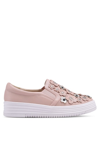 Nose pink Floral Sneakers 2B5D0SH2801564GS_1