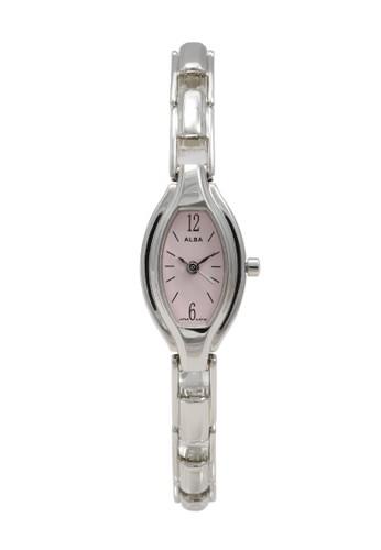 Alba silver ALBA Jam Tangan Wanita - Silver Pink - Stainless Steel - AC3A99 82D5DAC4277150GS_1
