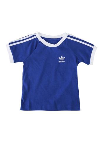 ADIDAS blue 3-stripes tee 3BCD5KA565C3C7GS_1
