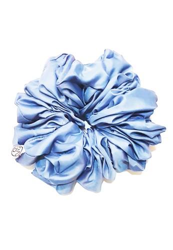 San Marco blue Hair Volumizer Scrunchie Blue DCDB9BE82F786FGS_1