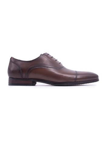 Rad Russel brown Rad Russel Lace-up Oxford - Brown 3D6F5SH73DEAFEGS_1