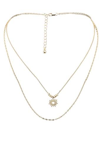 Pieces gold Pcjoalda Combi Necklace 9FFE5AC7D26252GS_1
