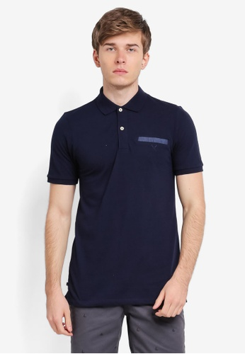 REGATTA blue and navy Polo Shirt With Pocket RE699AA0SN2DMY_1