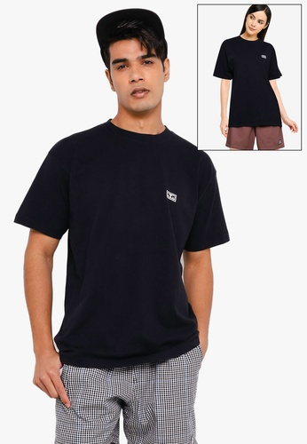 OBEY black Eyes Of Obey Tee 8463CAAC292A15GS_1
