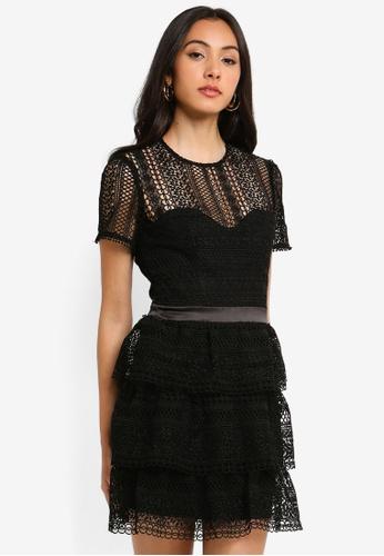Bardot black Ava Lace Dress DB708AABFF16FFGS_1