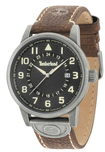 Timberland brown Timberland Cohasset 3 Hands Date Men Watch TBL.15250JSQ/02 TI063AC0SEMPMY_1