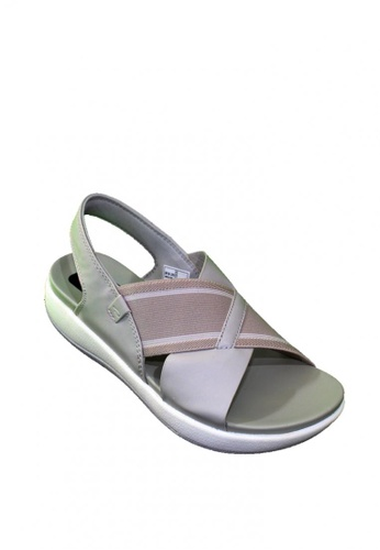 M&G grey Essi Comfy Sole Sandals 838E1SH6AA08FAGS_1