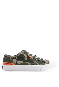 6171eda33fbbce Superdry green Trophy Classic Low Sneakers 8E575SH7A43186GS 1