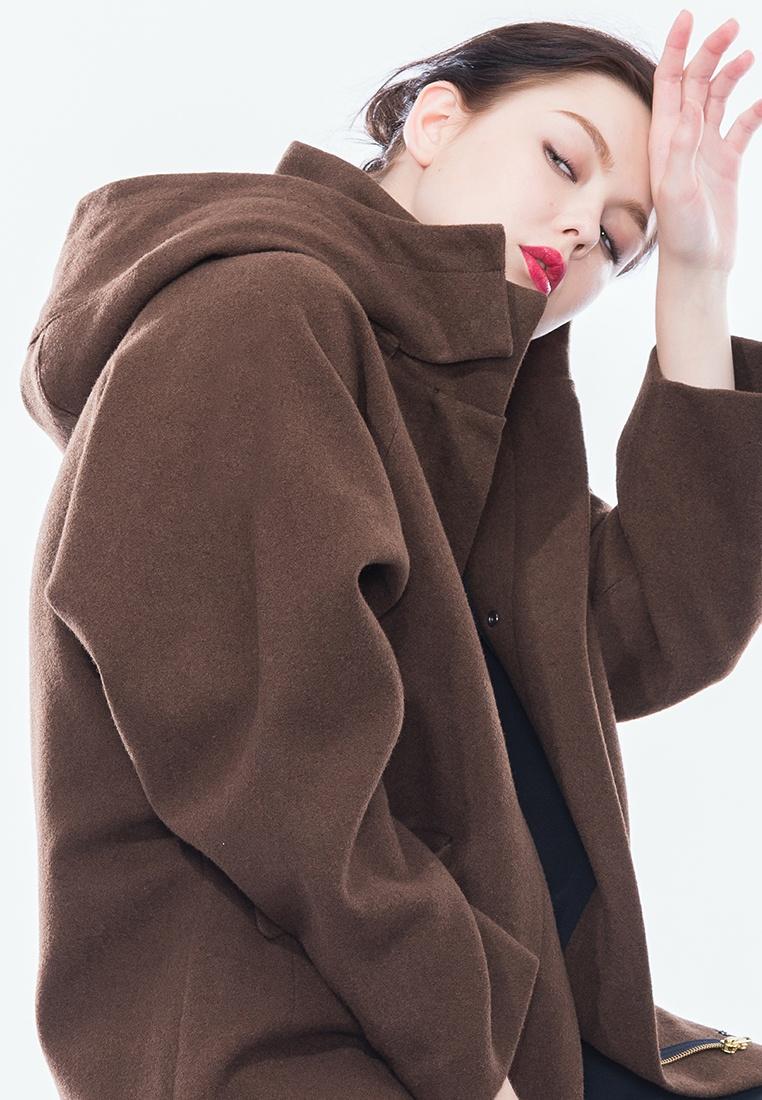 Chocolate Wool Alpha Charlotte Style BF Parka qWgAX8