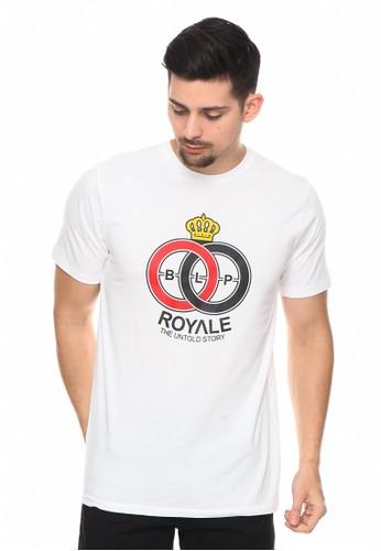 bloop white Bloop Tshirt SYN Royale White M - BLP-RF009 395D3AA1361394GS_1