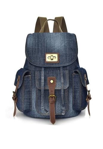 Twenty Eight Shoes blue VANSA Vintage Denim Backpack VBW-Bp9006 9E4A9AC90BF293GS_1