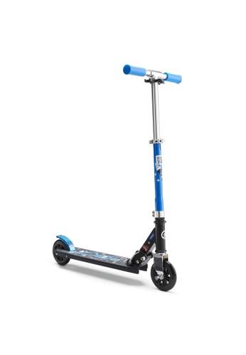 Decathlon OXELO SKUTER REMAJA MID 1 ROBOT BLUE - 8549507 E418FTH2FA3BBEGS_1