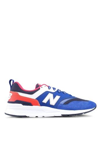 New Balance blue 997H Lifestyle Shoes 694A0SH2053DECGS_1