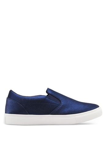 ZALORA navy Classic Slip On Sneakers 26D4CSH180C171GS_1