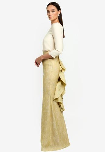 NH by Nurita Harith yellow Abigail Kurung D7561AA89A21E5GS_1
