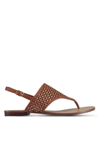 ALDO brown Unulla Flat Sandals 3086CSH730860AGS_1