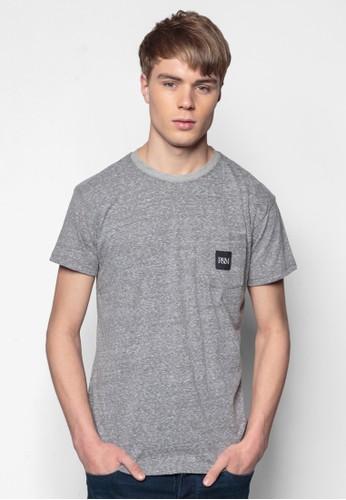 品牌口袋素esprit outlet 家樂福色TEE, 服飾, 素色T恤