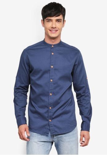 Jack & Jones blue Springfield Shirt 8D18EAAC04D6AFGS_1