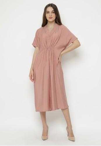Veyl pink Abiela Jumpsuit Pink 0DFA3AA11DB254GS_1