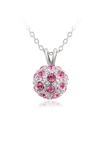 OUXI pink OUXI Happiness Necklace OU821AC98VHLMY_1