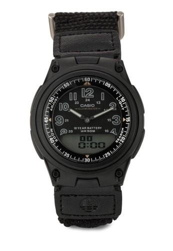 AW-80V-1B 男士手esprit outlet 高雄錶, 錶類, 飾品配件