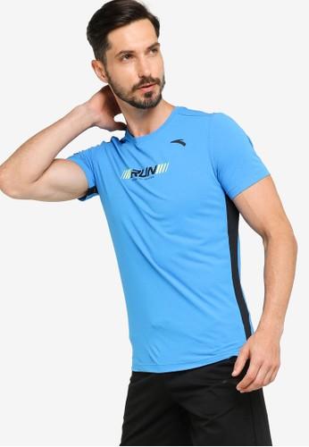 Anta blue Running Short Sleeves Tee 9FA17AA3BD2375GS_1