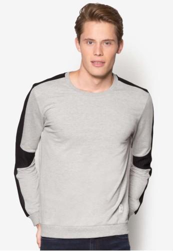 撞色長袖衫, 服飾esprit 品牌, 外套