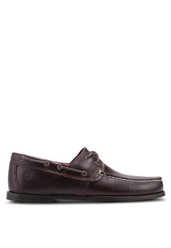 Timberland brown Cedar Bay Boat Shoes 62483SHCAAB74FGS_1