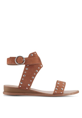Call It Spring brown Grieria Sandals B6AFDSH180ABE0GS_1