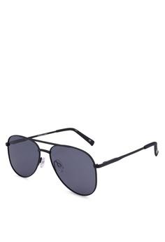 b1baf5dda48 Le Specs black Kingdom Sunglasses 5F3DCGL6B215DCGS 1