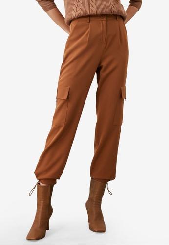 Trendyol brown Cargo Pocket Detail Pants EE8B2AA9B52DCCGS_1