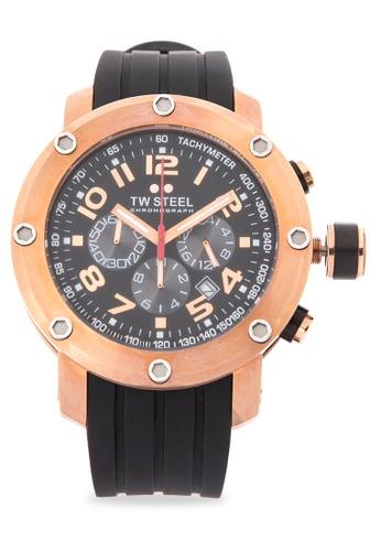 TW Steel black TW130 Grandeur Tech Analog Watch TW310AC0KMC3PH_1